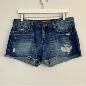 Joes Jeans Cutoff Denim Shorts (B67)